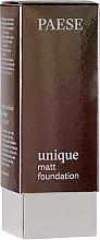 Düfte, Parfümerie und Kosmetik Mattierende Foundation - Paese Unique Matt Foundation