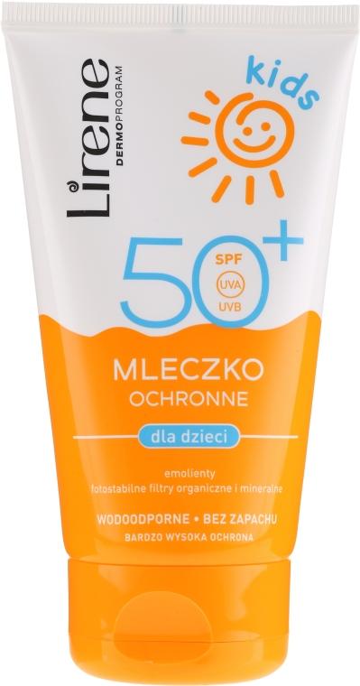 Sonnenschutzmilch für Kinder SPF 50+ - Lirene Kids Sun Protection Milk SPF 50+ — Bild N1