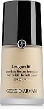 Düfte, Parfümerie und Kosmetik Foundation - Giorgio Armani Designer Lift Smoothing Firming Foundation SPF 20