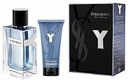 Düfte, Parfümerie und Kosmetik Yves Saint Laurent Y Pour Homme - Duftset (Eau de Toilette 100ml + Duschgel 50ml)