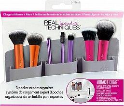 Düfte, Parfümerie und Kosmetik Make-up Pinsel-Organizer grau - Real Techniques 3 Pocket Expert Organizer Grey