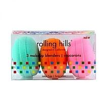 Düfte, Parfümerie und Kosmetik Beautyblender-Set - Rolling Hills Makeup Blender Macarons Set (Beautyblender 3 St.)