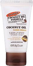 Düfte, Parfümerie und Kosmetik Feuchtigkeitsspendende Handcreme mit Bio Kokosöl und Vitamin E - Palmer's Coconut Oil Formula with Vitamin E Hand Cream
