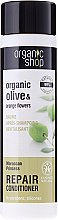 """Düfte, Parfümerie und Kosmetik Regenerierende Haarspülung """"Marokkanische Prinzessin"""" - Organic Shop Organic Olive and Argan Oil Repair Conditioner"""