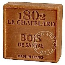 Düfte, Parfümerie und Kosmetik Seife Sandelholz - Le Chatelard 1802 Soap Sandalwood