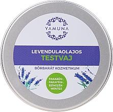 Düfte, Parfümerie und Kosmetik Masło do ciała z olejkiem lawendowym - Yamuna Lavender Oil Body Butter