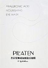 Düfte, Parfümerie und Kosmetik Regenerierende Augenkonturmaske mit Hyaluronsäure - Pilaten Hyaluronic Acid Nourishing Eye Mask