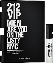 Düfte, Parfümerie und Kosmetik Carolina Herrera 212 VIP Men - Eau de Toilette (Probe)