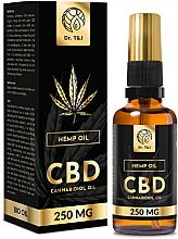 Düfte, Parfümerie und Kosmetik Natürliches Hanföl CBD 250 mg - Dr. T&J Bio Oil