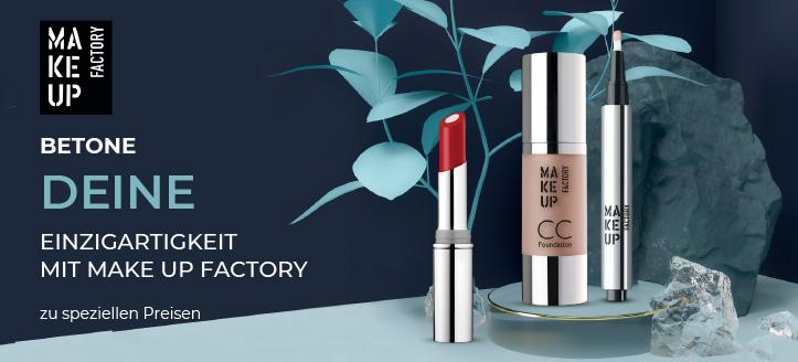 Sonderaktion von Make up Factory