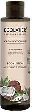Düfte, Parfümerie und Kosmetik Nährende und regenerierende Körperlotion mit Bio Kokosnussöl, Sheabutter und Vitamin B - Ecolatier Organic Coconut Body Lotion