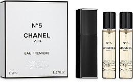 Düfte, Parfümerie und Kosmetik Chanel N5 Eau Premiere - Eau de Parfum (3 x Nachfüllung mit Zerstäuber)