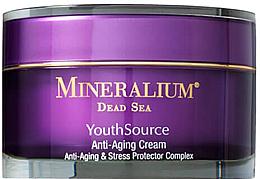 Düfte, Parfümerie und Kosmetik Anti-Aging Gesichtscreme gegen Stress - Minerallium Youth Source Anti-Aging Cream