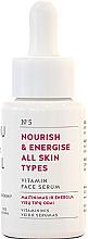 Düfte, Parfümerie und Kosmetik Nährendes und energiespendendes Gesichtsserum mit Vitaminen für alle Hauttypen - You & Oil Vitamin Nourish & Energise Serum