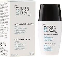 Düfte, Parfümerie und Kosmetik Aufhellende und schützende Gesichtscreme SPF 50 - Academie White Uv Screen SPF 50