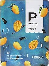 Düfte, Parfümerie und Kosmetik Reinigende Tuchmaske mit Mango-Extrakt - Frudia My Orchard Squeeze Mask Mango
