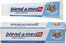 Düfte, Parfümerie und Kosmetik Zahnpasta Anti-Cavity Family - Blend-a-med Anti-Cavity Family Protect Toothpaste