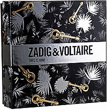 Düfte, Parfümerie und Kosmetik Zadig & Voltaire This is Him - Duftset (Eau de Toilette 50ml + Duschgel 100ml)