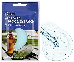 Düfte, Parfümerie und Kosmetik Hydrogel-Augenpatches mit Kollagen - Quret Collagen Hydrogel Eye Patch