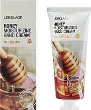 Düfte, Parfümerie und Kosmetik Feuchtigkeitsspendende Handcreme mit Honig - Lebelage Honey Moisturizing Hand Cream