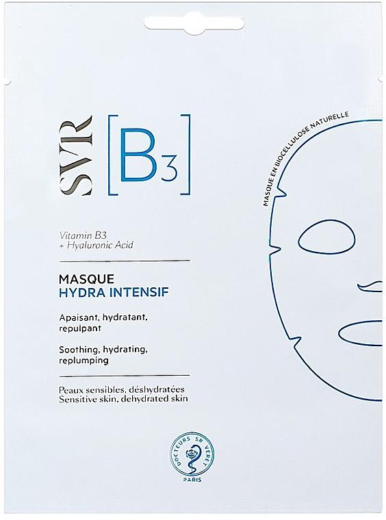 Feuchtigkeitsspendende Gesichtsmaske für empfindliche, trockene Haut - SVR [B3] Intensive Hydra Mask