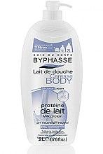 Düfte, Parfümerie und Kosmetik Duschcreme mit Milchprotein - Byphasse Caresse Shower Cream