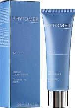 Düfte, Parfümerie und Kosmetik Gesichtsmaske für empfindliche Haut - Phytomer Accept Desensitizing Mask