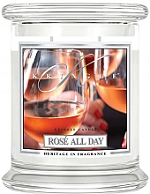 Düfte, Parfümerie und Kosmetik Duftkerze im Glas Rosé All Day - Kringle Candle Rosé All Day