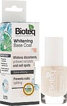Düfte, Parfümerie und Kosmetik Base Nagellack mit Bleicheffekt - Bioteq Whitening Base Coat