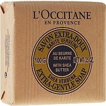 Düfte, Parfümerie und Kosmetik Naturseife Milk mit Shea Butter - L'occitane Shea Butter Extra Gentle Soap-Milk